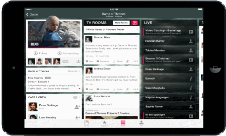 Platform Profile: The Beamly app creates a social network for TV fanatics